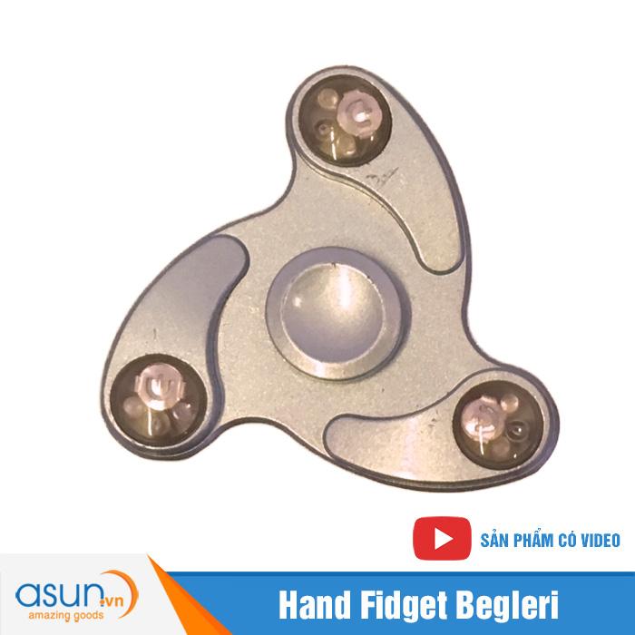 Con Quay Giảm Stress Boomerang Đèn Led Hand Spinner  - Fidget Spinner