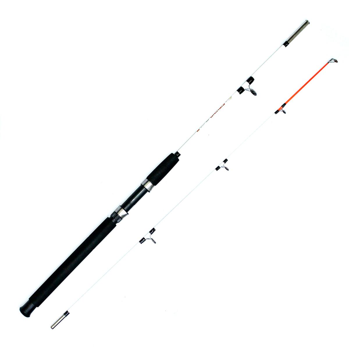 Cần Câu Máy Hai Khúc Đặc Trắng Fishing 1m8 - Phổ Thông