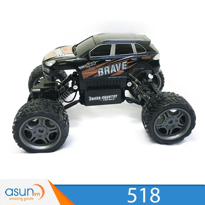 Xe  Điều Khiển Địa Hình Rock Crawler 518 4WD RC