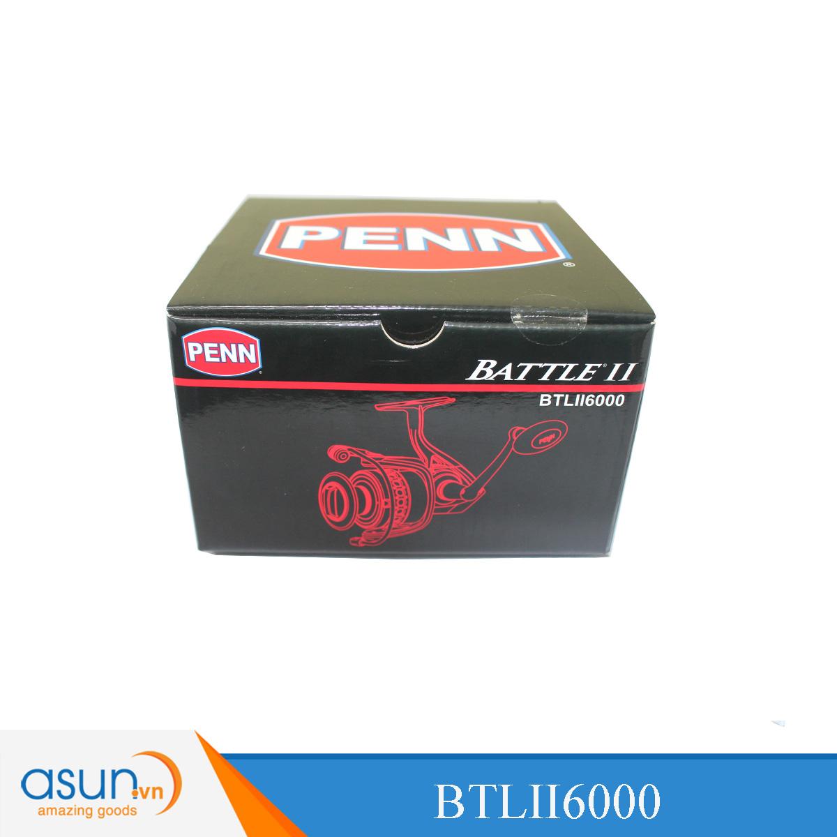 Máy Câu Đứng Penn Battle II BTLII 6000 - Chính Hãng BH 1 năm