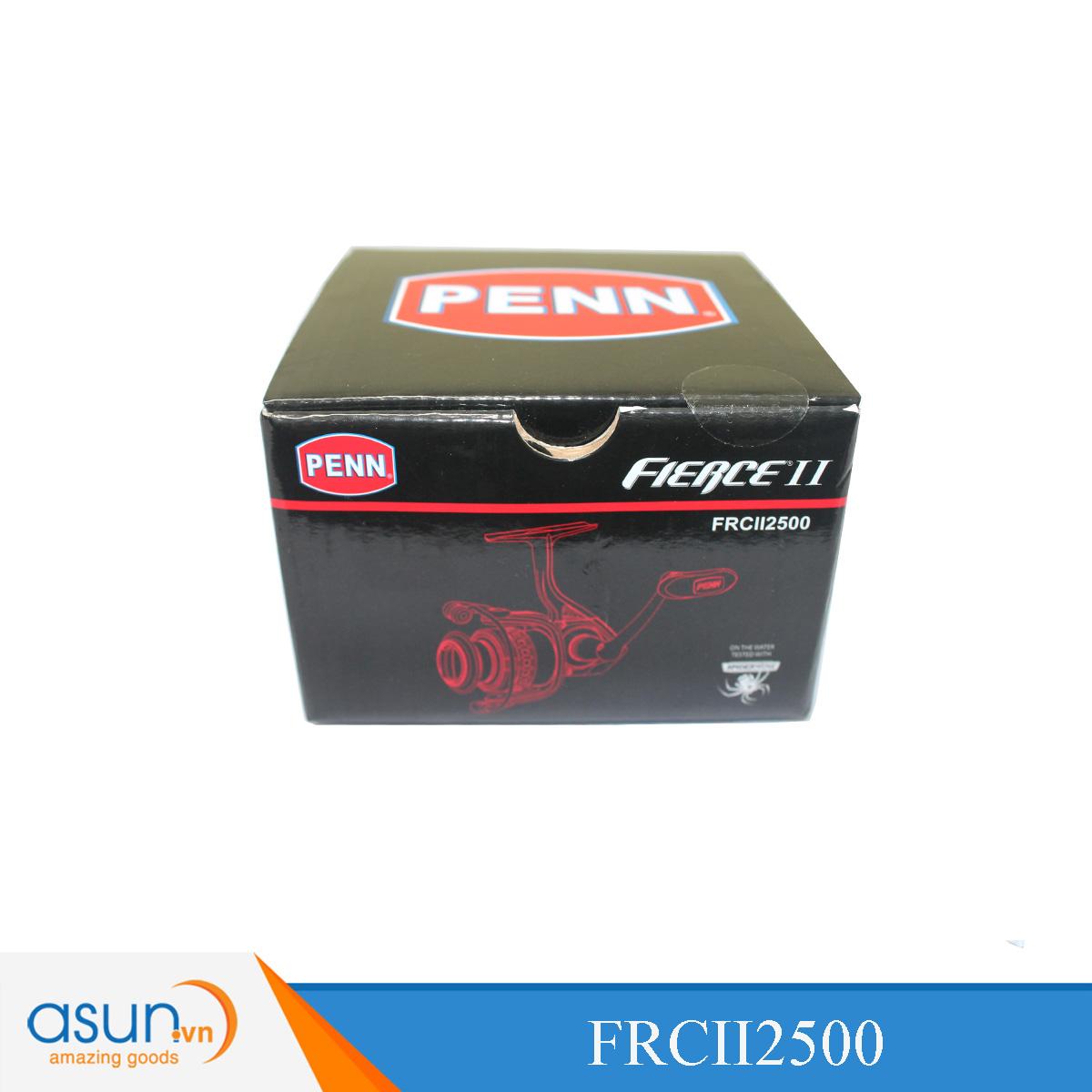 Máy Câu Đứng Penn Fierce II 2500 - FRCII2500 Chính Hãng Bảo Hành 1 Năm
