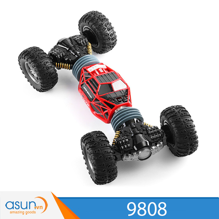 Xe Điều Khiển Địa Hình 4WD 2 Chế Độ Bánh Lớn Cực Khỏe 9808