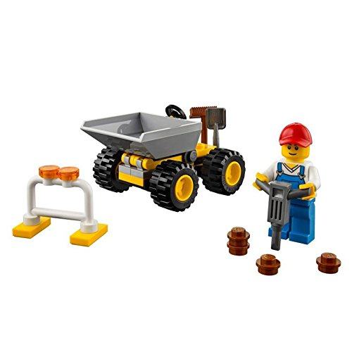 Đồ Chơi Xếp Hình - Chú Công Nhân Vệ Sinh Thương Hiệu LEGO