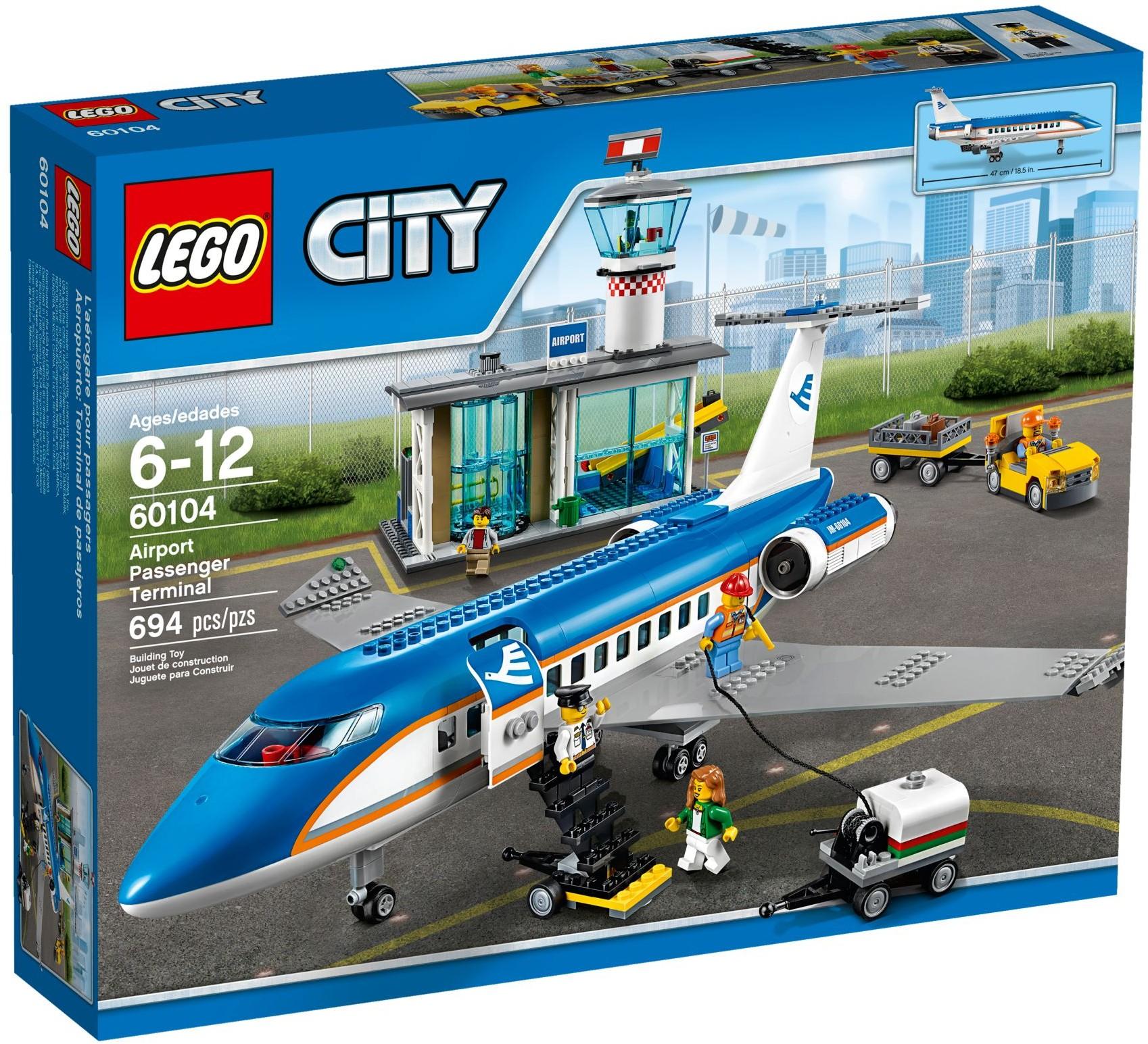 Đồ Chơi Xếp Hình - Phòng Chờ Sân Bay Thương Hiệu LEGO