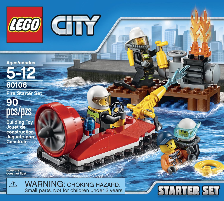 Đồ Chơi Xếp Hình - Bộ Cứu Hỏa Khởi Đầu Thương Hiệu LEGO