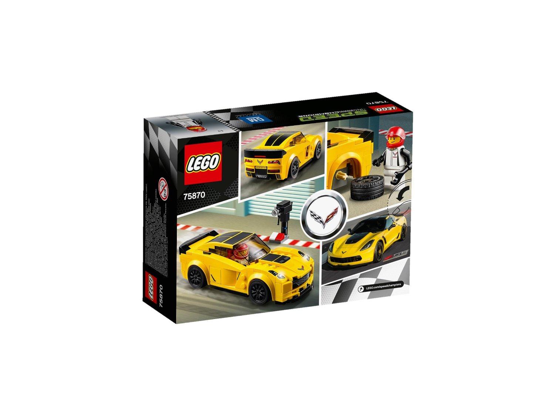 Đồ Chơi Xếp Hình - Xe Đua Chevrolet Corvette Z06 Thương Hiệu LEGO