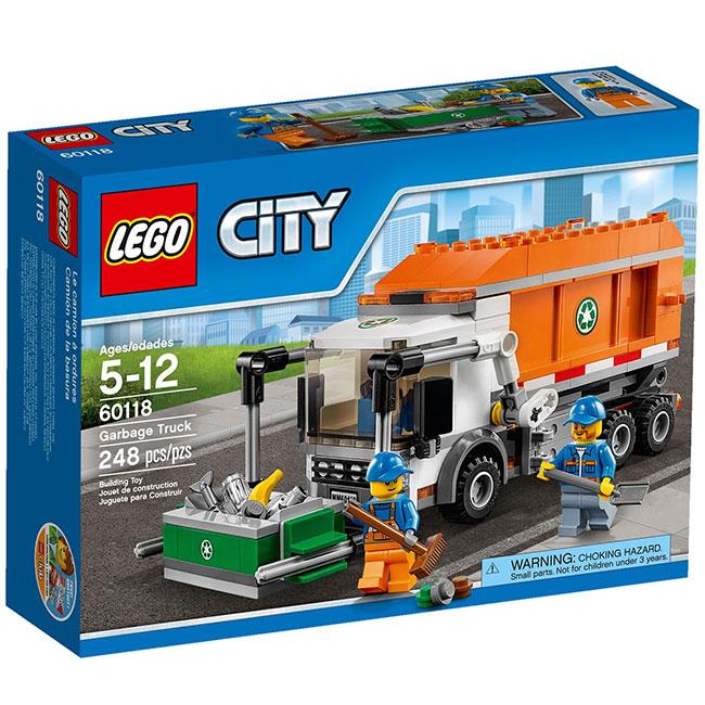 Đồ Chơi Xếp Hình - Xe Tải Chở Rác Thương Hiệu LEGO