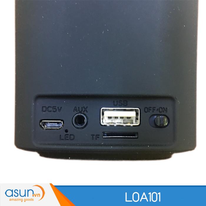 Loa Bluetooth Mini Speaker 101 Black