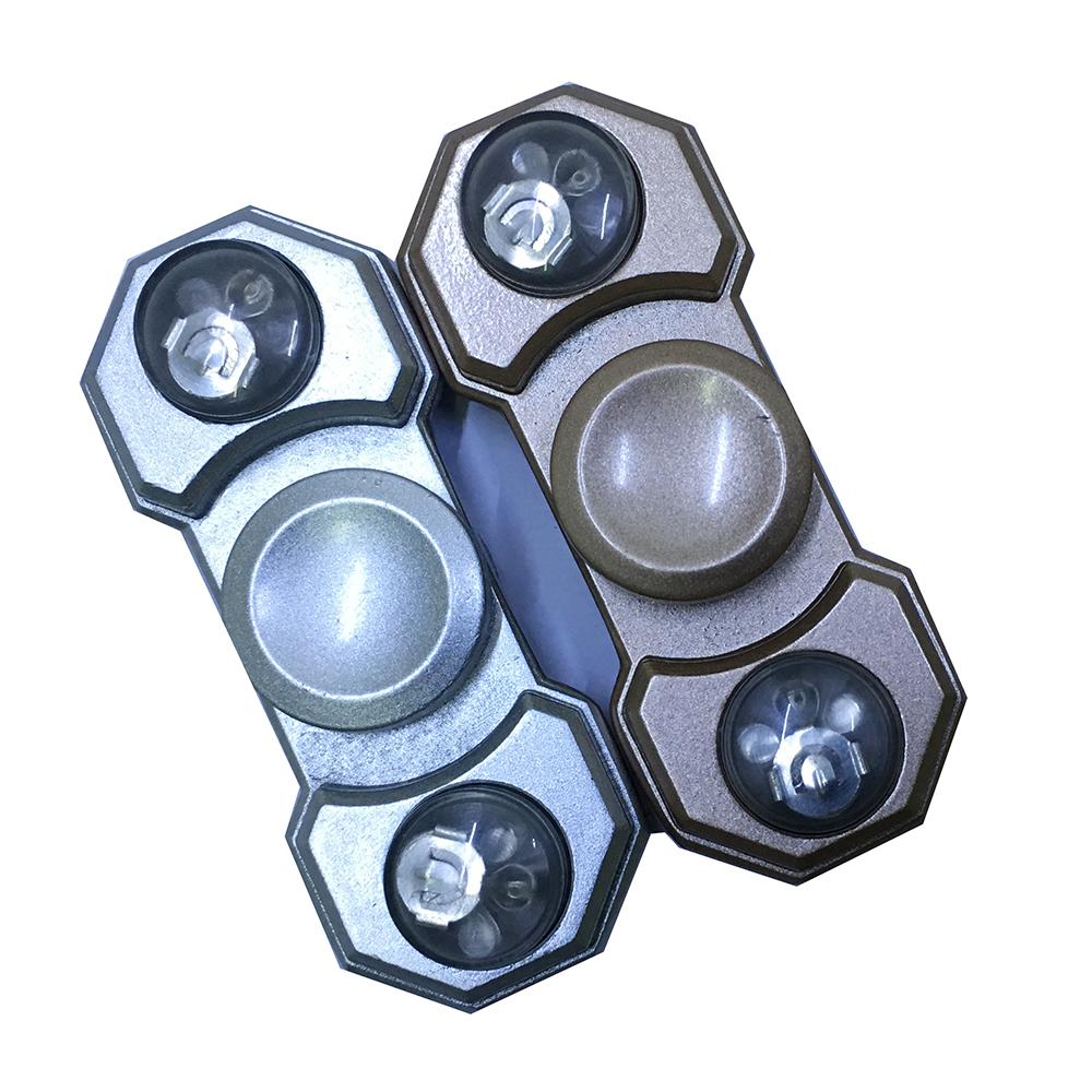 Con Quay Giảm Stress Đèn Led 2 Cánh Hand Spinner - Fidget Spinner