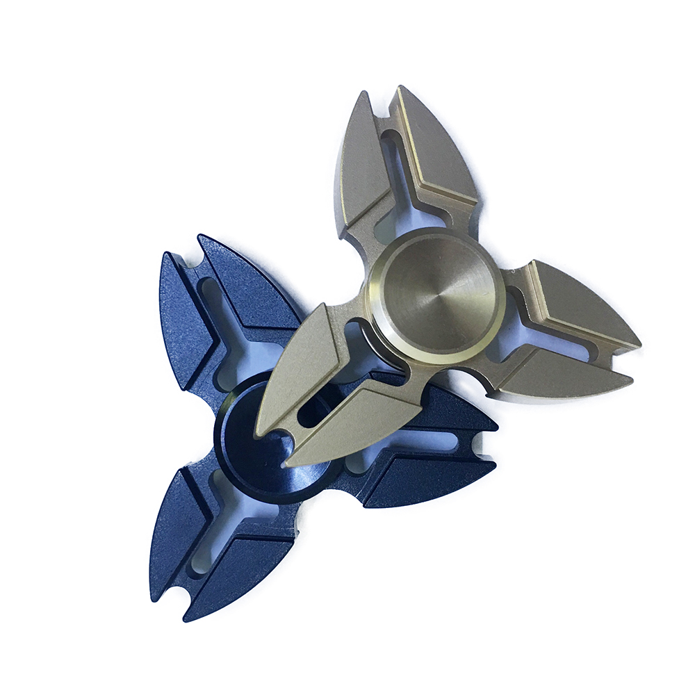 Con Quay Giảm Stress Sakura 3 Cánh Bằng Nhôm Hand Spinner - Fidget Spinner