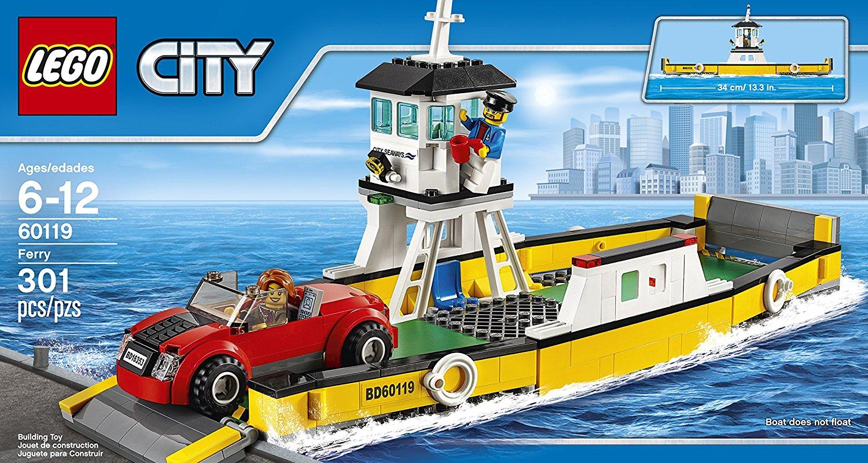 Đồ Chơi Xếp Hình Phà Thương Hiệu LEGO