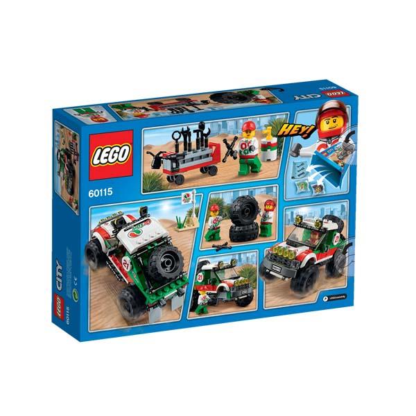 Đồ Chơi Xếp Hình Xe Đua Địa Hình Thương Hiệu LEGO