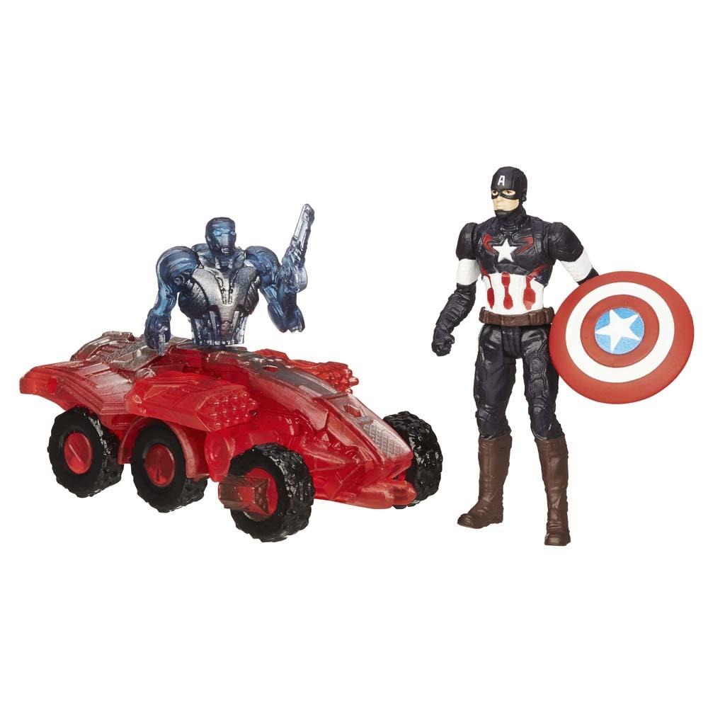 Mô Hình Captain America Và Sub Ultron 002 AVENGERS B1432