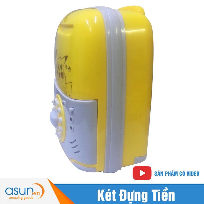 Két Đựng Tiền Mini Vali Hình Pikachu 822