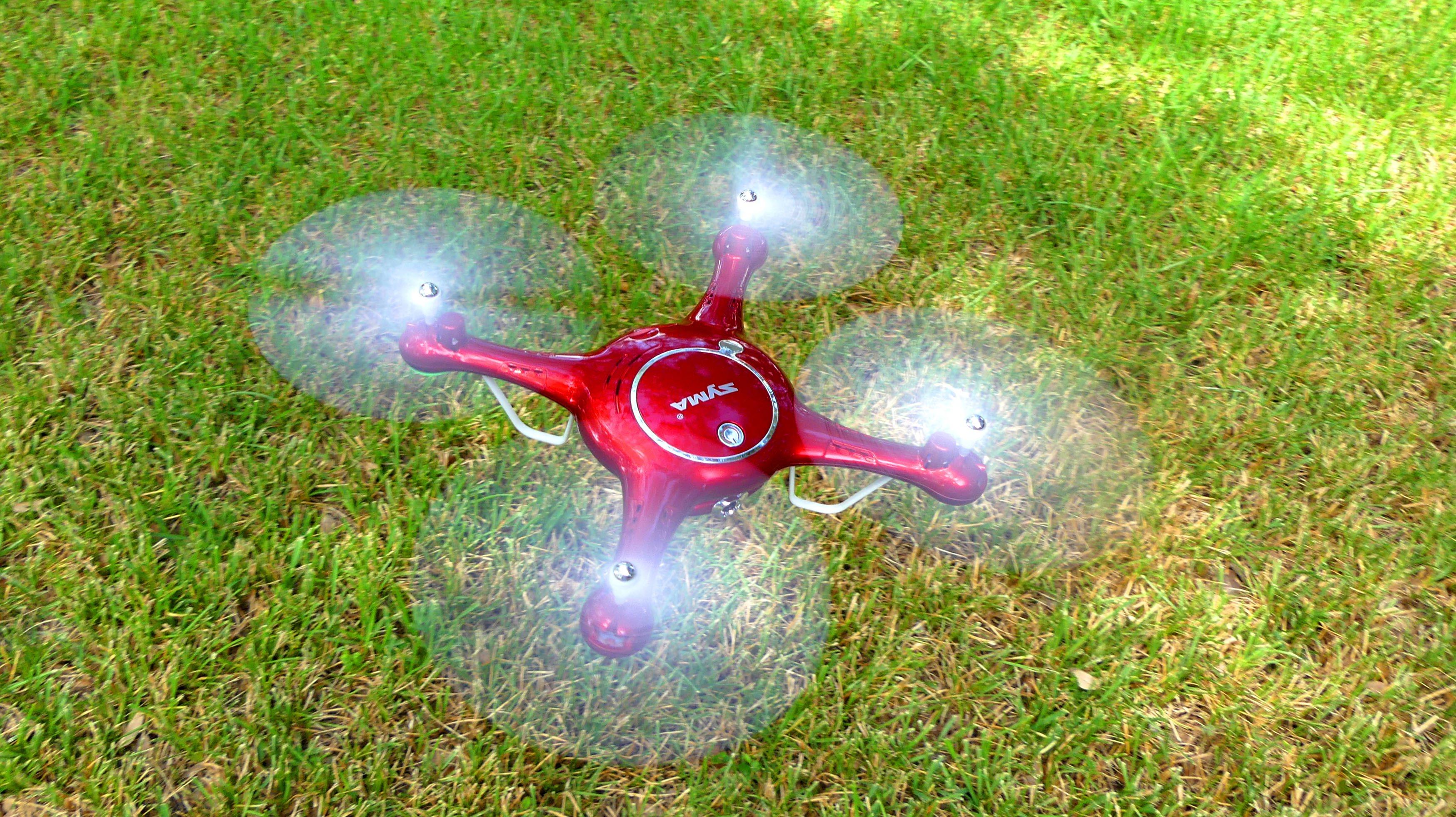Máy Bay 4 Cánh UFO Điều Khiển Syma X5UW Camera Wifi 6 axis Gyro