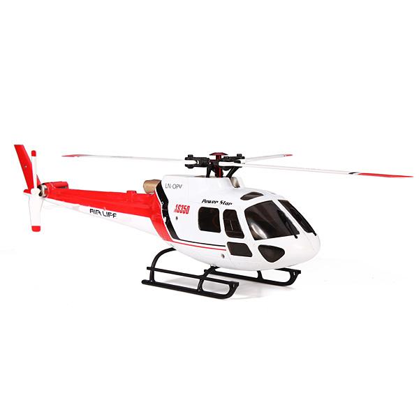 Máy bay trực thăng điều khiển 6 kênh AS350V931 Brushless