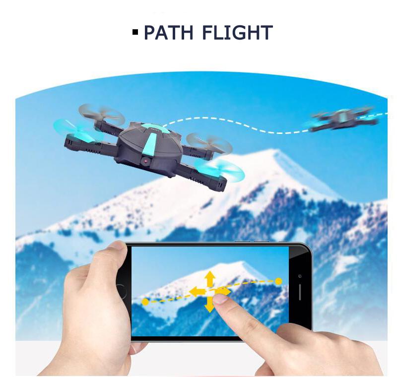 Máy Bay Điều Khiển Flycam JY018 Wifi Camera Điều Khiển Bằng Điện Thoại