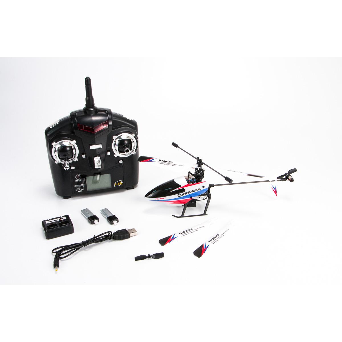 Máy bay trực thăng điều khiển V911-2 4 kênh mini