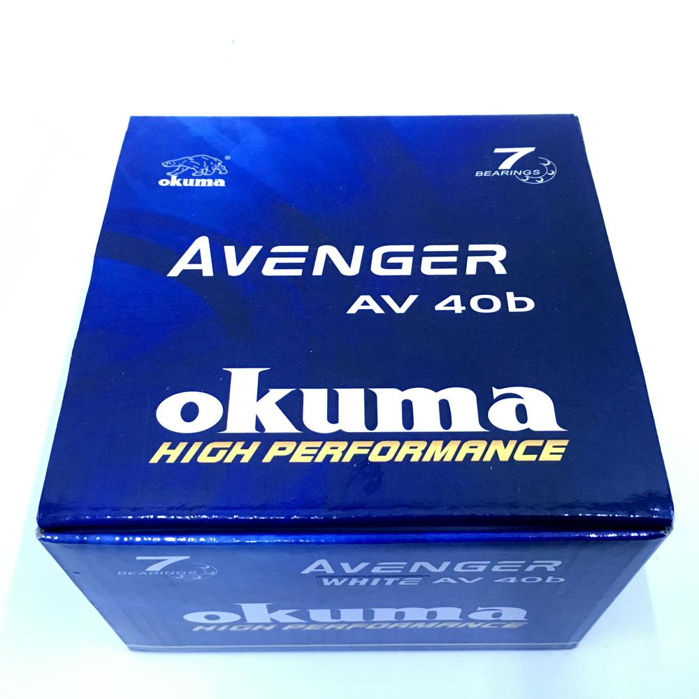 Máy Câu Cá Okuma Avenger 40b - AV40B