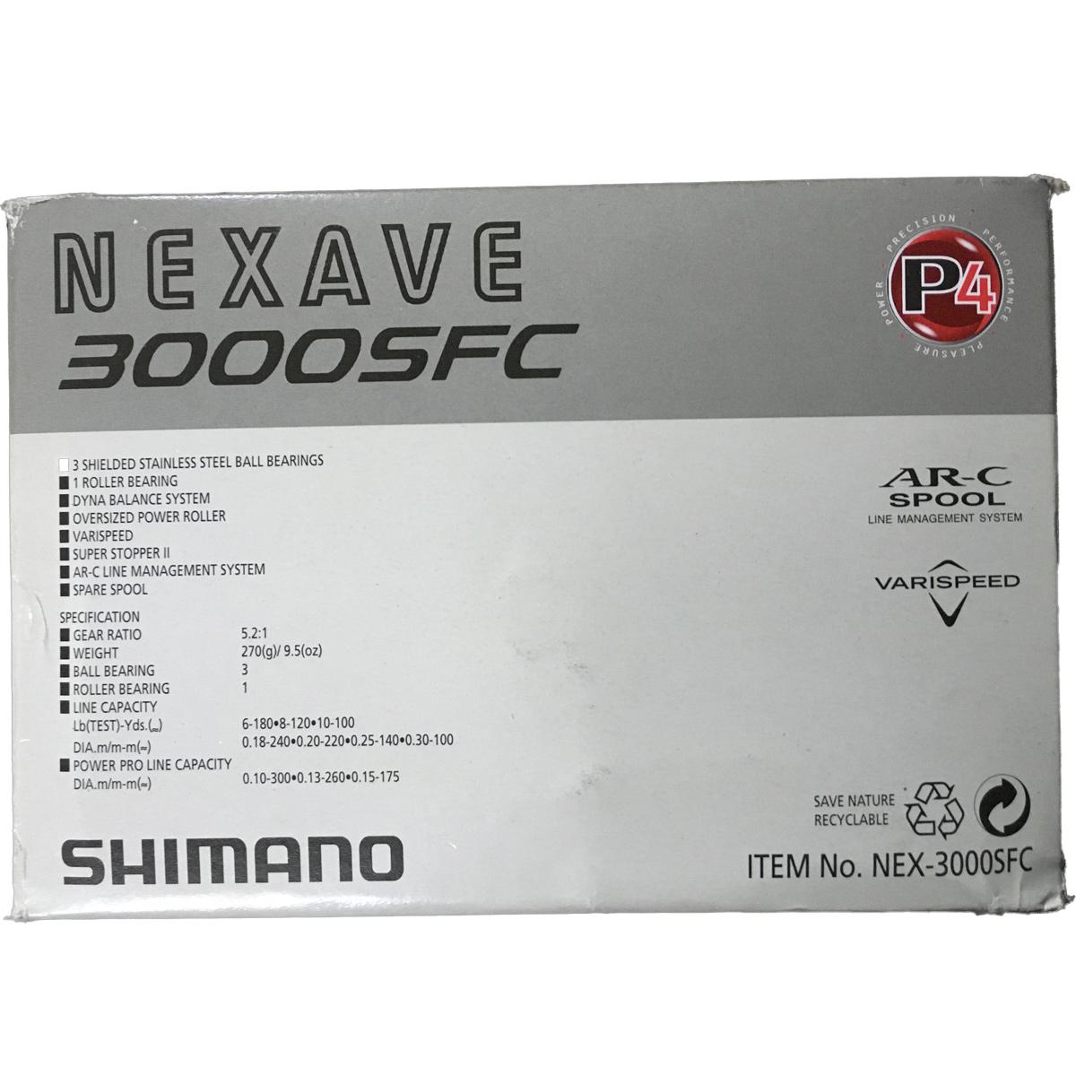 Máy Câu Shimano Nexave 3000FC - Chính Hãng BH 6 Tháng