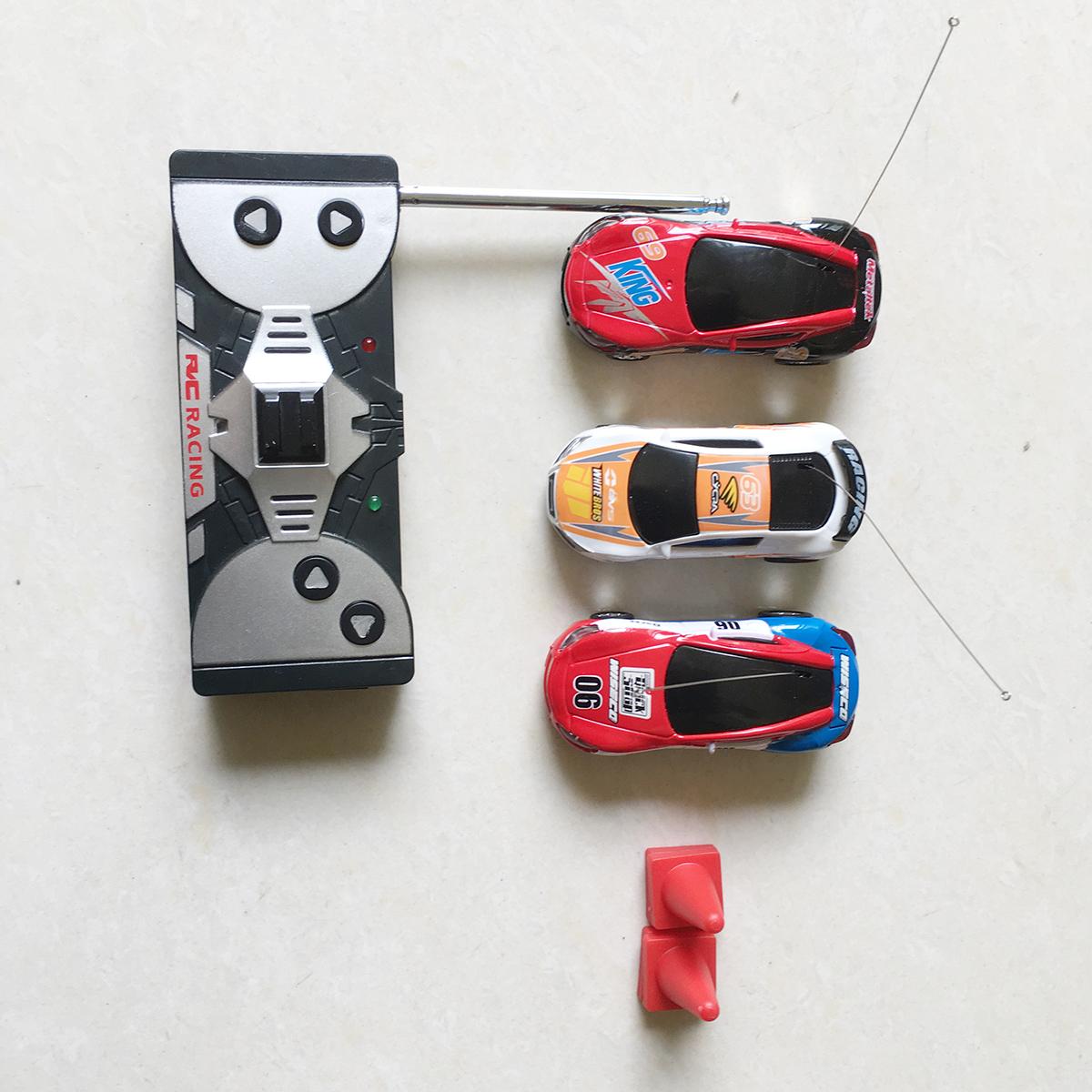 Xe Đua Siêu Mini Điều Khiển Lon Coca 8803 Tỷ lệ 1:64