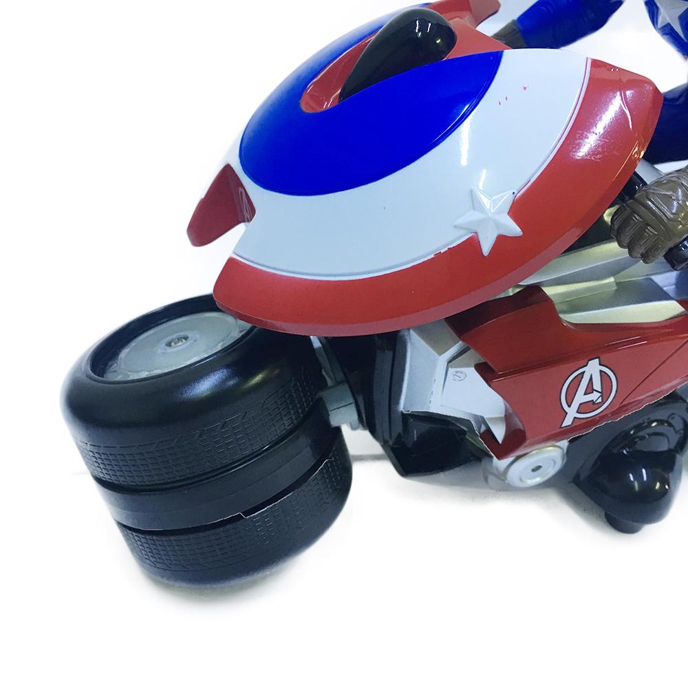 Xe moto Siêu Anh Hùng Điều Khiển Captian America CAP003