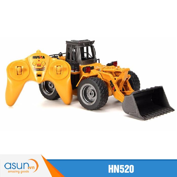 Xe Ủi Đất Điều Khiển Bằng Sắt Huina Toys 520 HN520 2.4Ghz