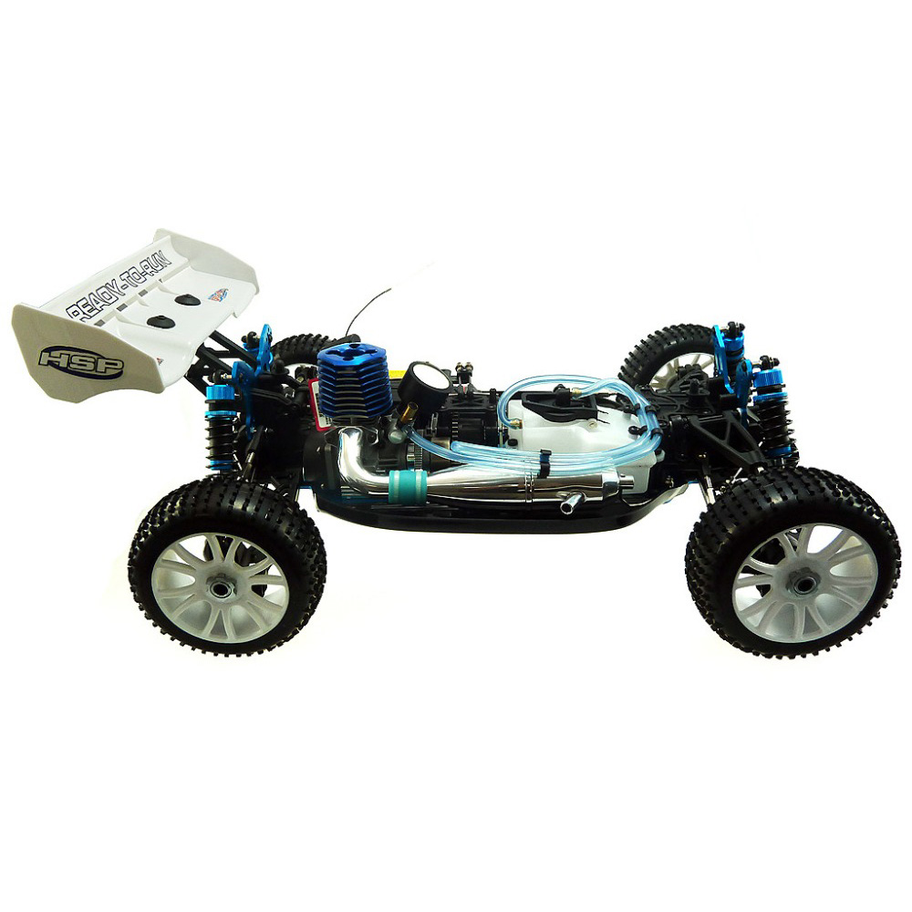 Combo Xe Xăng Nitro Điều Khiển Off Road Buggy HSP 1:8 94860 4WD