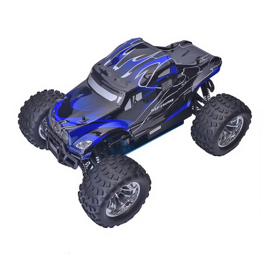 Xe Xăng Nitro Điều Khiển HSP 1:10 94188 Off Road Monster Truck 4WD