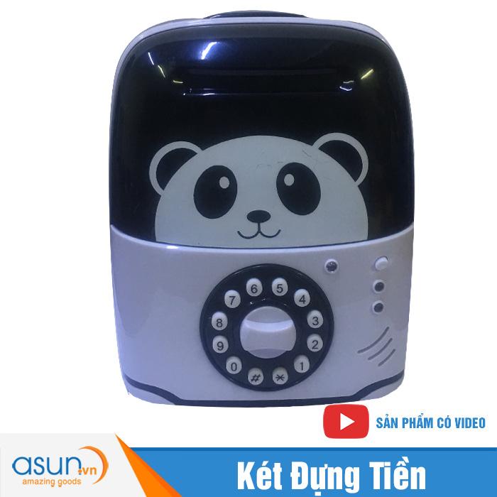 Két Đựng Tiền Mini Vali Hình Panda 822