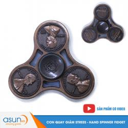 Con Quay Giảm Stress Đồng Cent Mỹ Hand Spinner Cỗ - Fidget Spinner