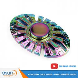 Con Quay Giảm Stress Oval Hand Spinner - Fidget Spinner 2017