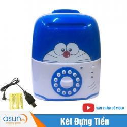 Két Đựng Tiền Mini Vali Doraemon Pin Sạc 6688 Hot