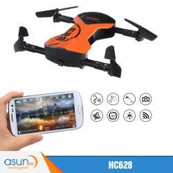 Máy Bay Điều Khiển Gấp Cánh HC628 Quadcopter Camera Wifi Dream Fly
