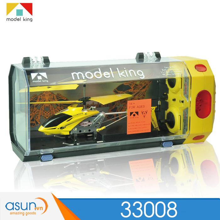 Máy bay trực thăng điều khiển Từ Xa Model King 33008 Vàng
