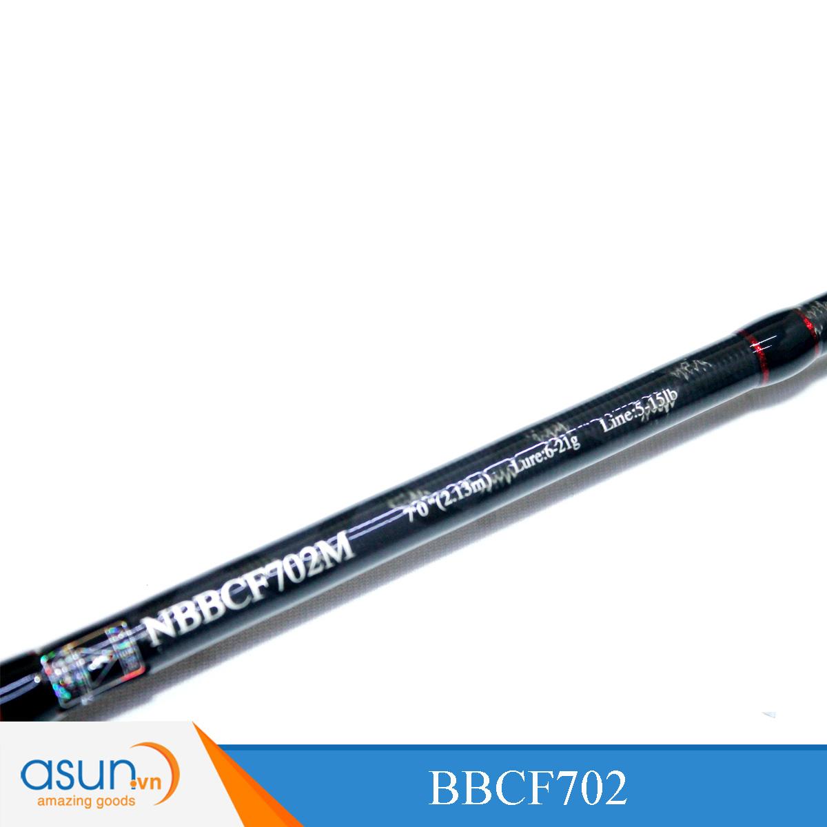 Combo Trọn Bộ Cần Câu Máy Ngang - Noeby - BBCF702 - LC1000R - Dây - Mồi Giả